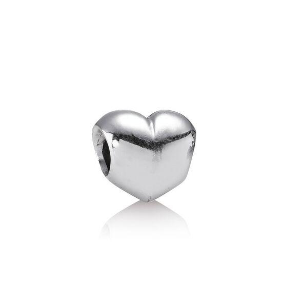 PANDORA Big Smooth Heart Charm