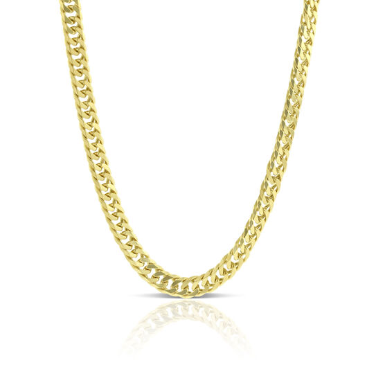 Curb Necklace 14K