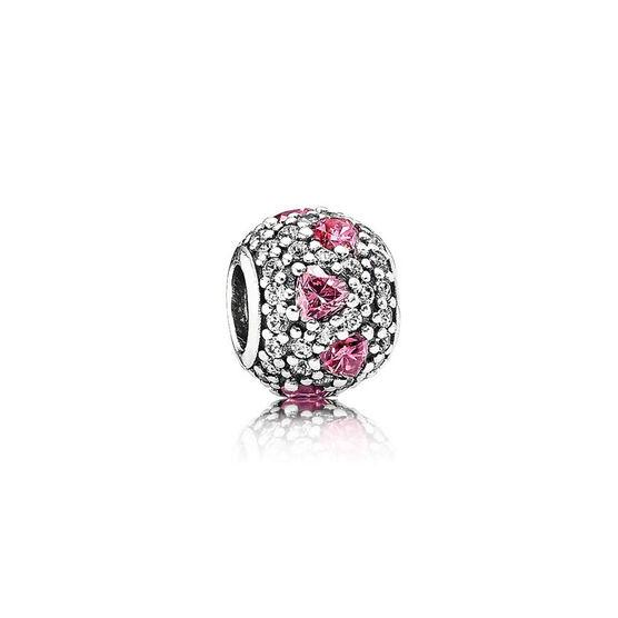 PANDORA Shimmering Heart CZ Charm