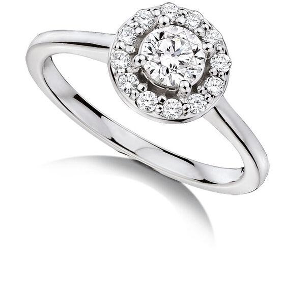 Forevermark Diamond Ring 18K, 1/2 ctw.