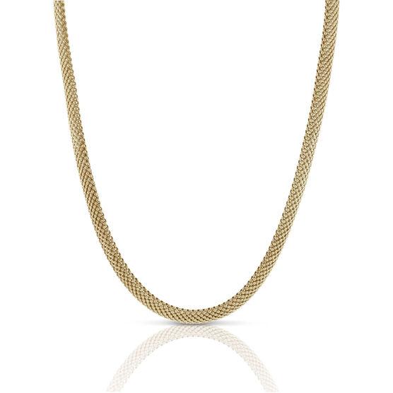 Toscano Bombay Mesh Necklace 18K