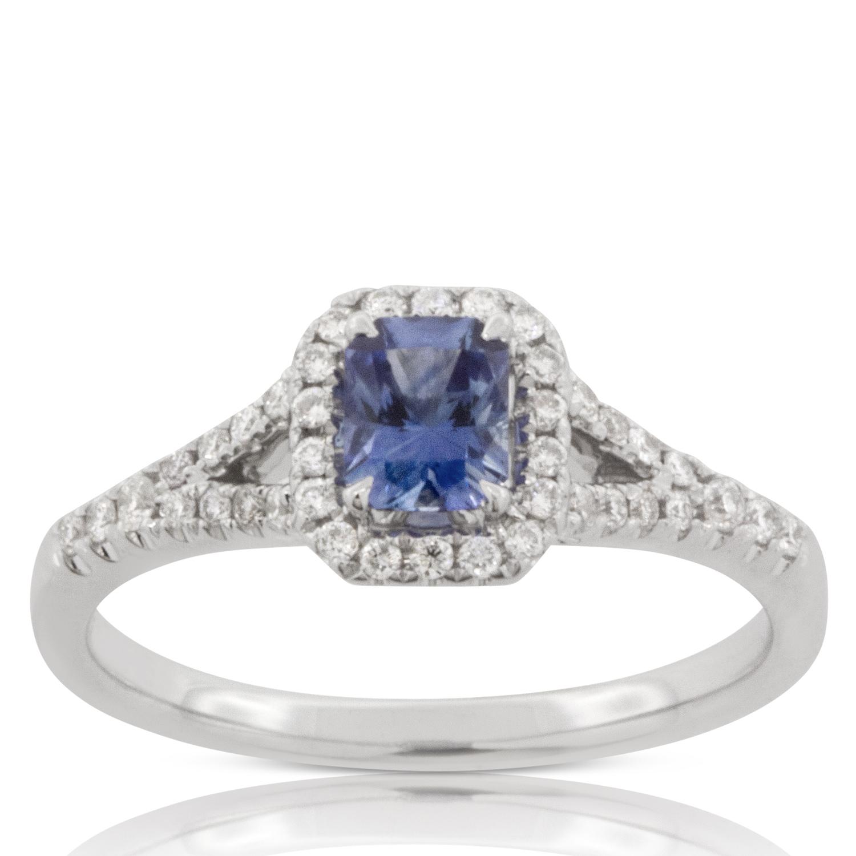 Sapphire Amp Diamond Ring 14k Ben Bridge Jeweler
