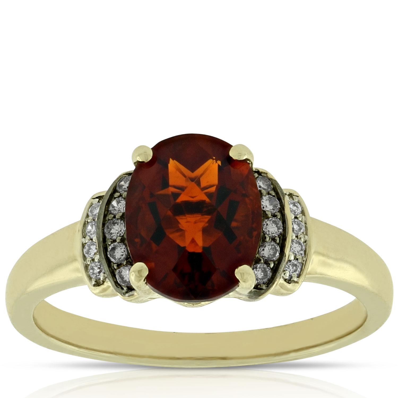 Madeira Citrine Amp Diamond Ring 14k Ben Bridge Jeweler