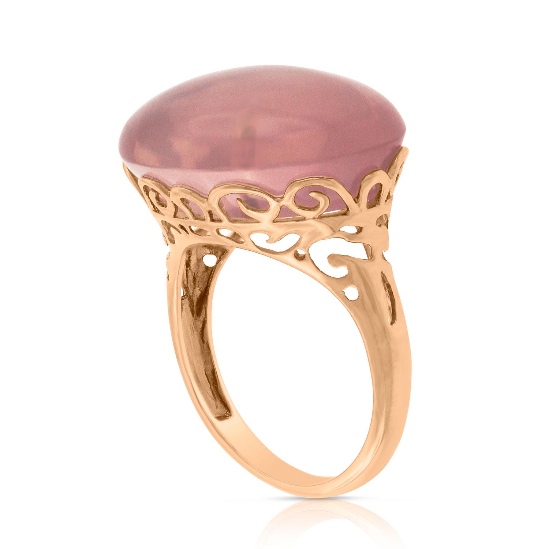 Rose Gold Pink Quartz Ring 14k Ben Bridge Jeweler