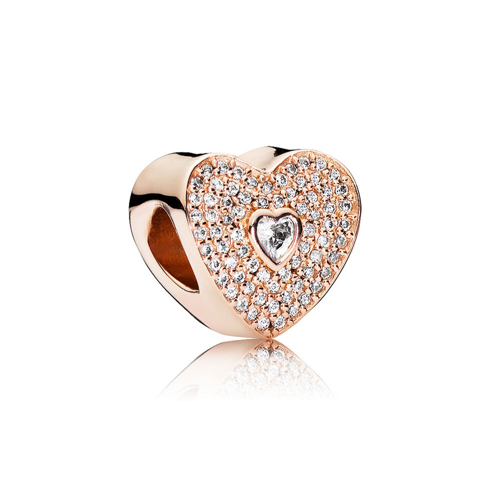 Pandora Rose Sweetheart Charm 781555cz Ben Bridge Jeweler