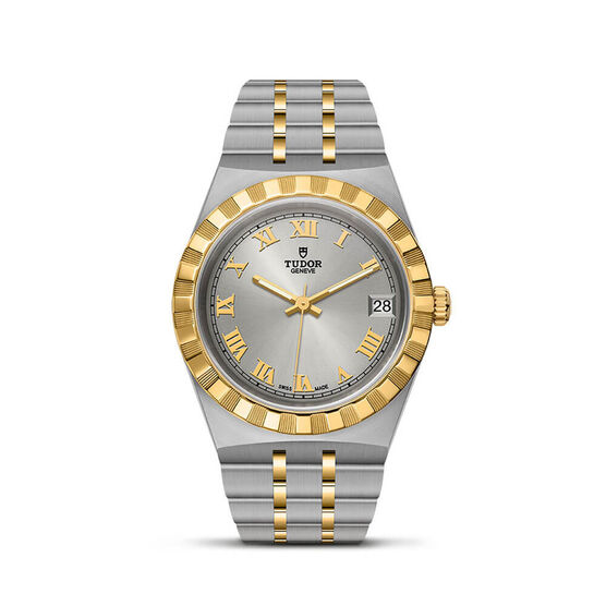Royal 34mm Steel and Gold