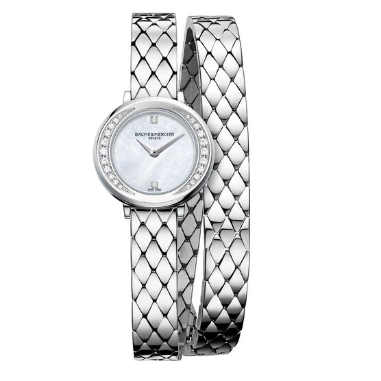 Baume & Mercier PROMESSE  Mother of Pearl Diamond Watch