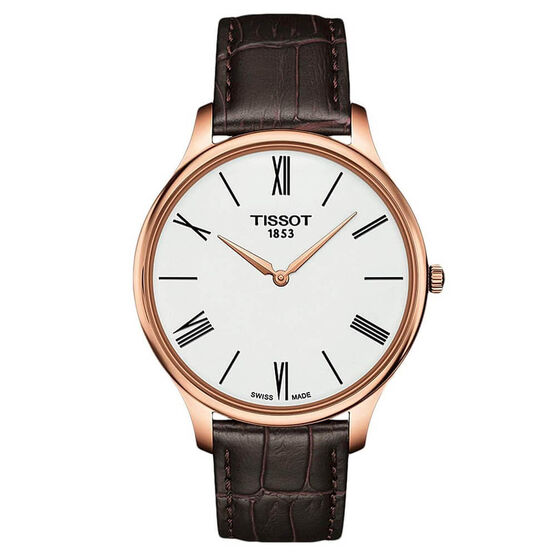 Tissot Tradition 5.5 Rose PVD Watch, 39mm