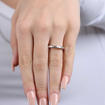 Toscano Roman Hammered Ring 14K