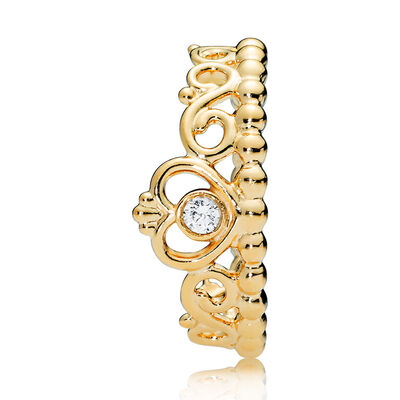 PANDORA Shine™ My Princess Tiara CZ Ring