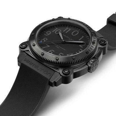 Hamilton Khaki Navy BeLOWZERO Limited Edition Blue Detailed TENET Watch, 46mm