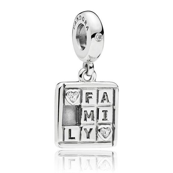 Pandora Family Game CZ Charm