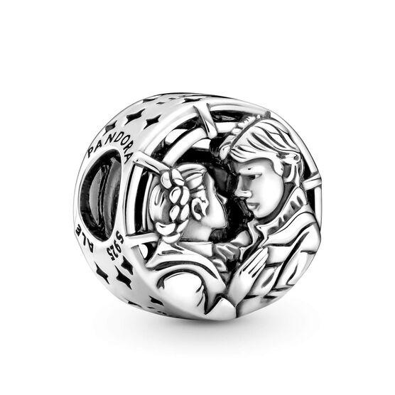 Pandora Star Wars Han Solo & Leia Kiss Charm