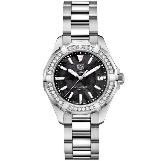 TAG Heuer Aquaracer Diamond Bezel Quartz Watch