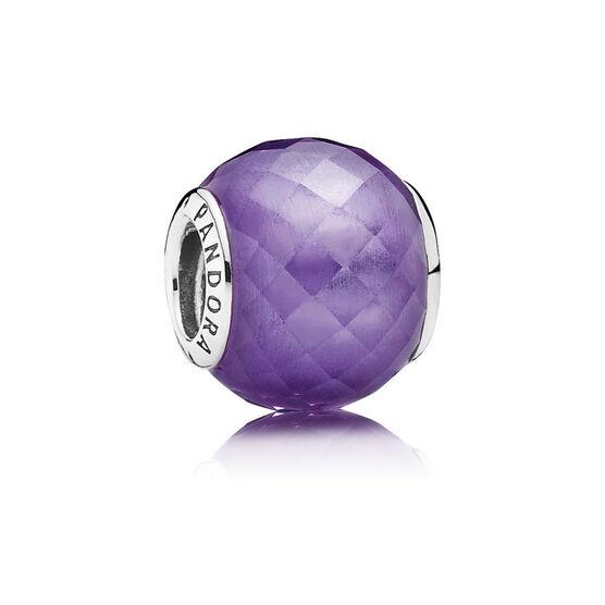 PANDORA Purple Petite Facets Charm