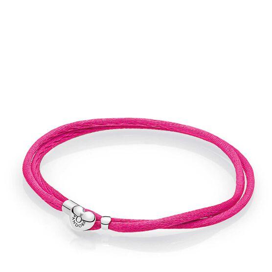 PANDORA Hot Pink Fabric Cord Bracelet