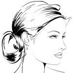 Emerald & Diamond Drop Earrings 14K