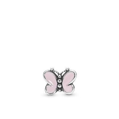 Pandora Pink Butterflies Petite Element Enamel Locket Charm