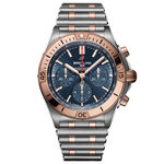 Breitling Chronomat B01 42 Blue Watch, 42mm, 18K & Steel