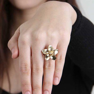 Toscano Flower Ring 14K