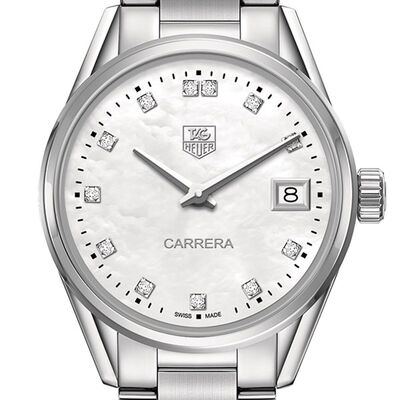 TAG Heuer Carrera Diamond Quartz Watch