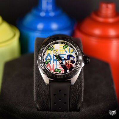 TAG Heuer Formula 1 Alec Monopoly Special Edition Quartz Watch 41mm