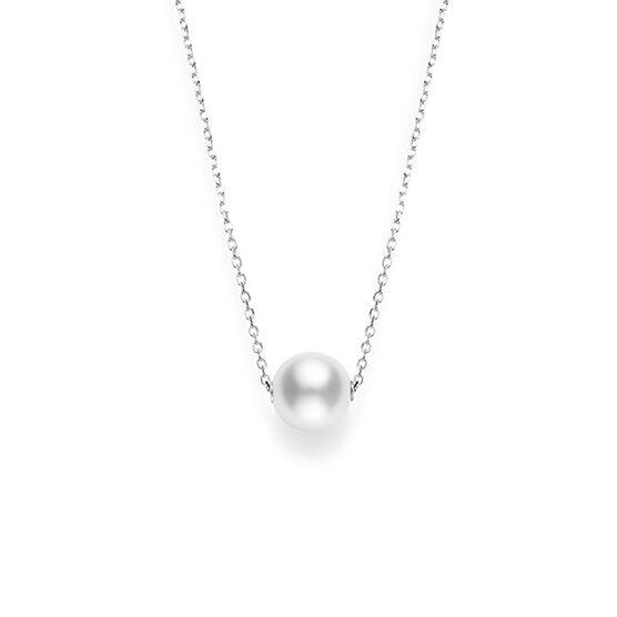 Mikimoto Cultured White South Sea Pearl Necklace 18K