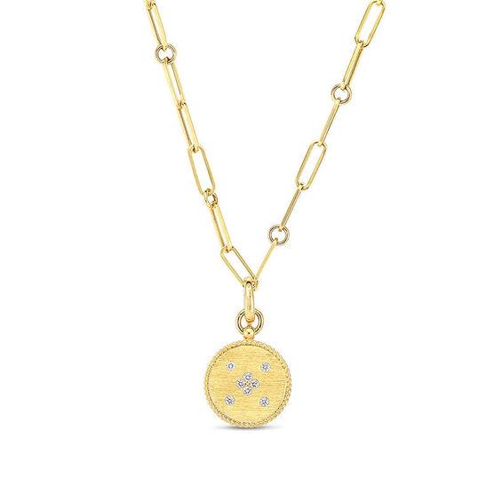 Roberto Coin Venetian Princess Diamond Scorpio Necklace 18K