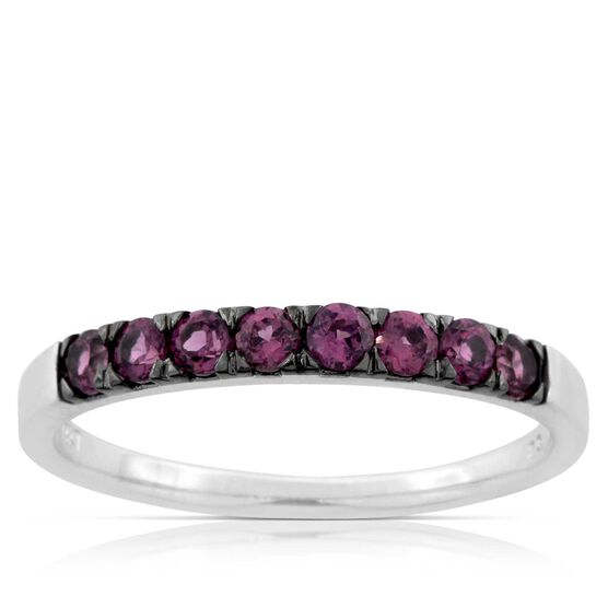 Garnet Ring 14K