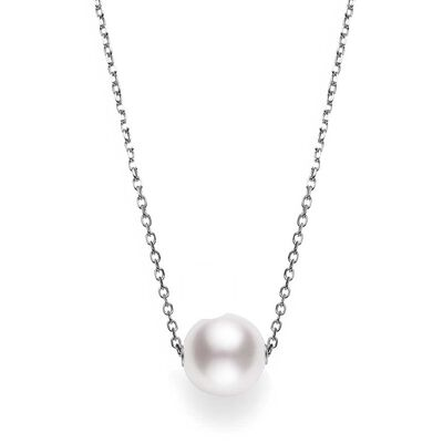 Mikimoto Akoya Cultured Pearl Necklace 18K