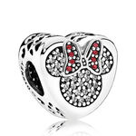 PANDORA Disney Mickey & Minnie True Love CZ Charm