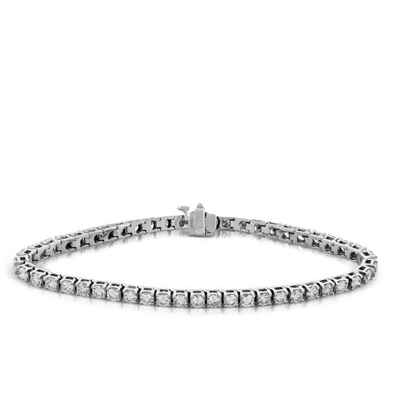 Diamond Tennis Bracelet 14K, 5 ctw.