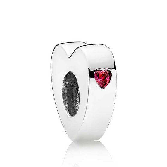 Pandora Two Hearts CZ Spacer