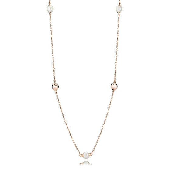 Pandora Rose™ Contemporary Freshwater Cultured Pearl Necklace