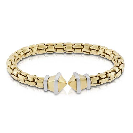Toscano Link by Link Cuff Bracelet 14K