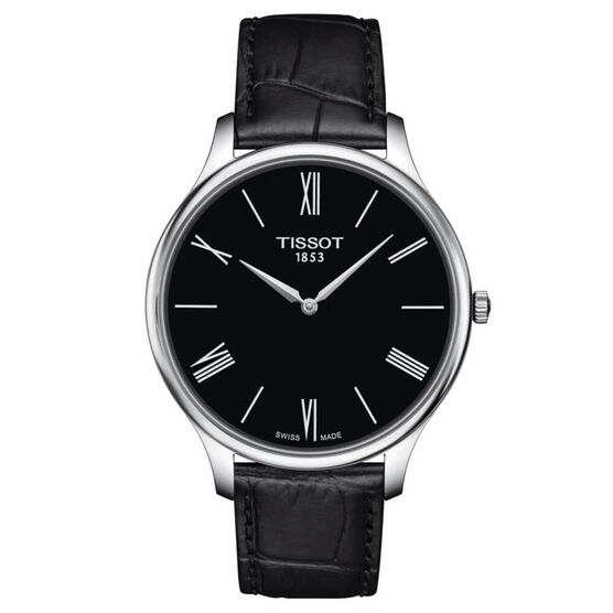 Tissot Tradition 5.5 Leather Strap Watch, 39mm