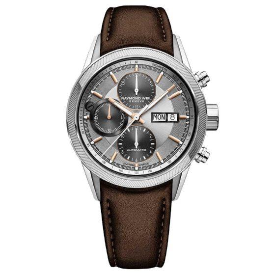 Raymond Weil Freelancer Automatic Chronograph Watch, 42mm