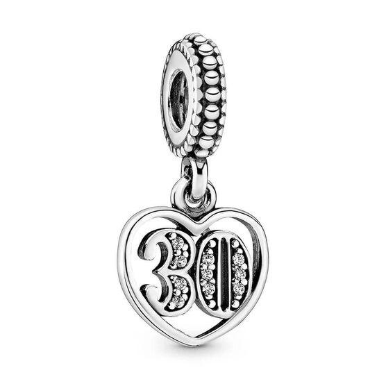 Pandora 30 Years of Love CZ Charm