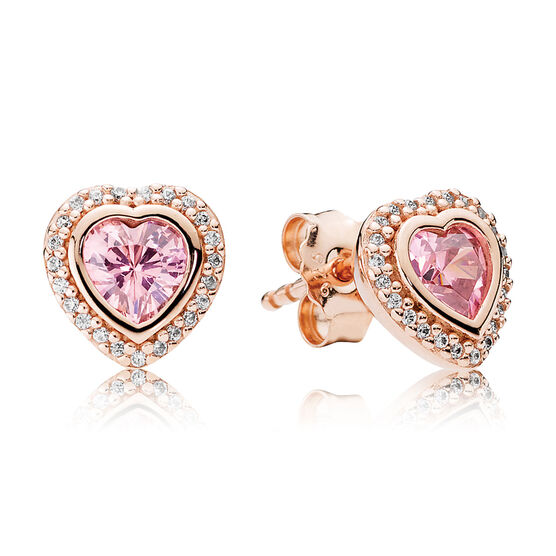 PANDORA Rose™ Sparkling Love CZ Earrings
