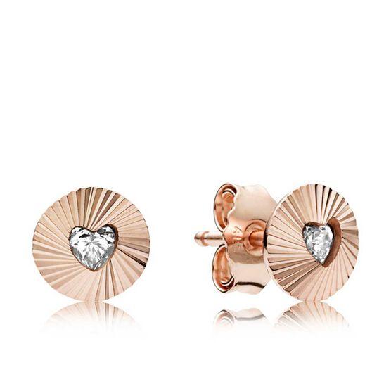 PANDORA Rose™  Vintage Fans CZ Earrings