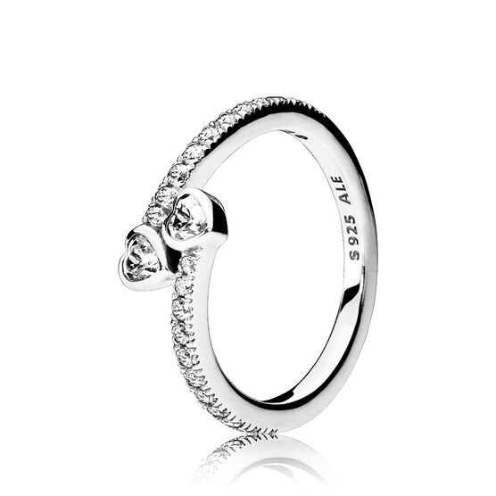 PANDORA Forever Hearts CZ Ring
