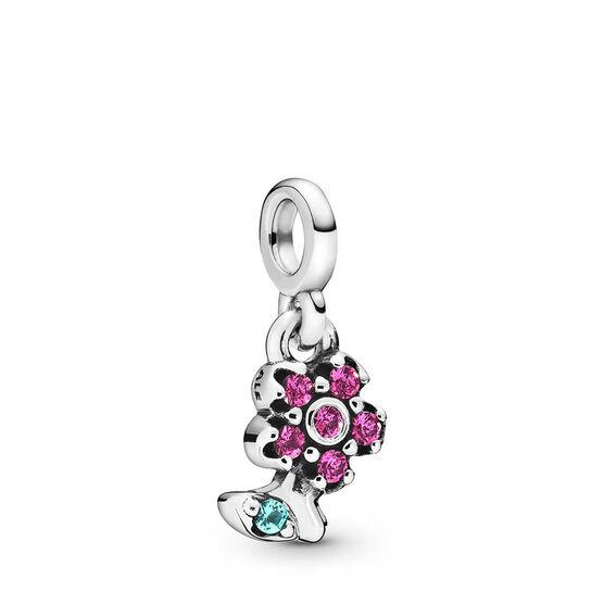 Pandora Me My Pretty Flower Crystal Dangle Charm