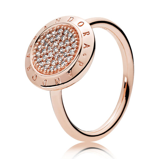 PANDORA Signature, PANDORA Rose™  CZ Ring