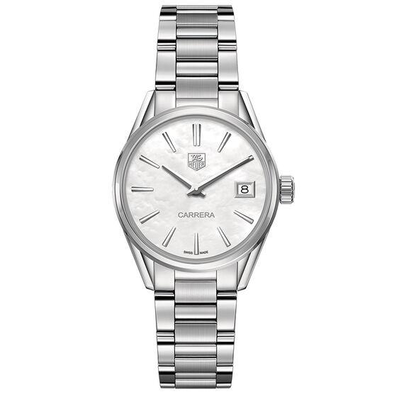 TAG Heuer Carrera Quartz Ladies Mother of Pearl Steel Watch