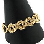 Toscano Triple Links Bracelet 14K