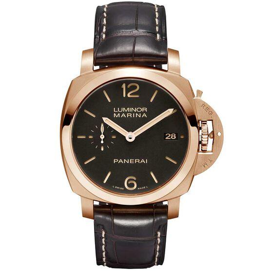 PANERAI Luminor Marina 1950 18K Rose Gold Watch | Tuggl
