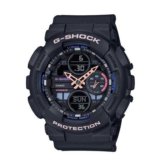 G-Shock S-Series 90's Black Strap Watch