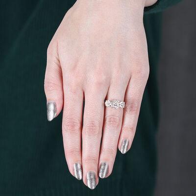 Multi-Diamond Love Eternal Engagement / Anniversary Ring 14K