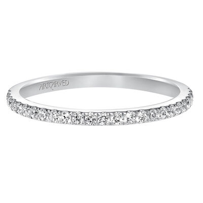 ArtCarved Classic Diamond Band 14K