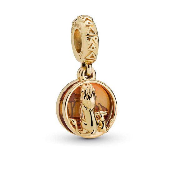 Pandora Shine™ & Disney, Simba & Mufasa Sunset Dangle Enamel Charm
